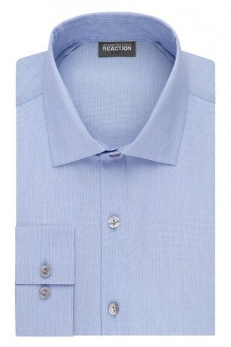 Calvin Klein Slim Fit Mist Blue Dress Shirt all Cotton