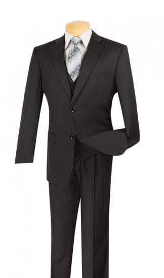 Men's Suit Single Breasted 2 Button with Matching Vest – Wedding Prom Suit