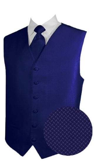 Geo Royal Blue Vest