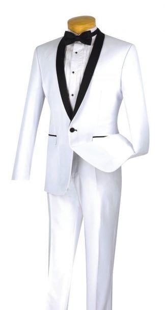 New Mens Navy Blue Calvin Klein Slim Fit Tuxedo Set