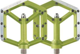 Spank Spike Pedals - Platform Aluminum, 9-16 - Green - Draco Bikes