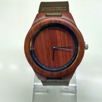 Zegarek drewniany Mahoń Bambusowy Filcomp
