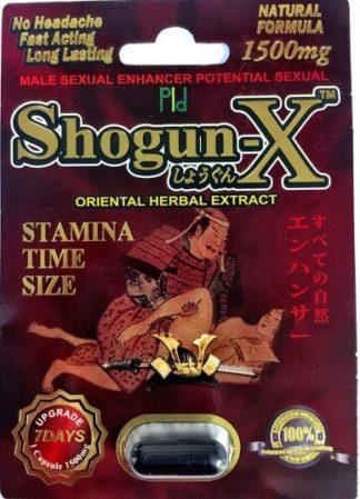 Shogun X Pill