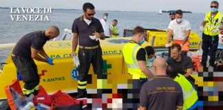 Incidente nautico a Venezia: barchino contro bricola. ULtima ora