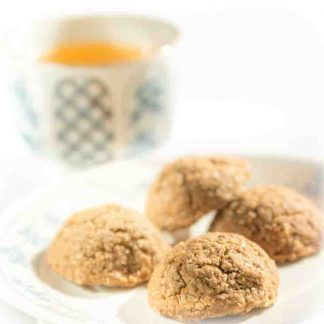 Tea time with Sweetwater Tea Cookies and green tea