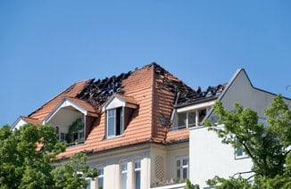 Fire Insurance Claim Roof