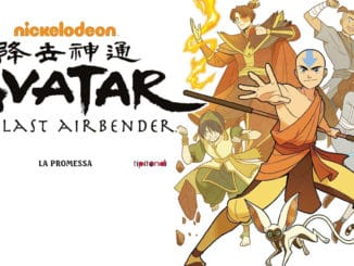 avatar the last airbender fumetto tunué