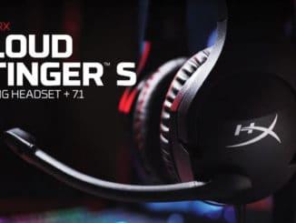 hyperx headset cloud stinger s