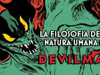 la filosofia della natura umana di devilman