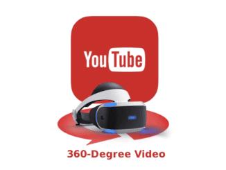 Youtube 360 psvr