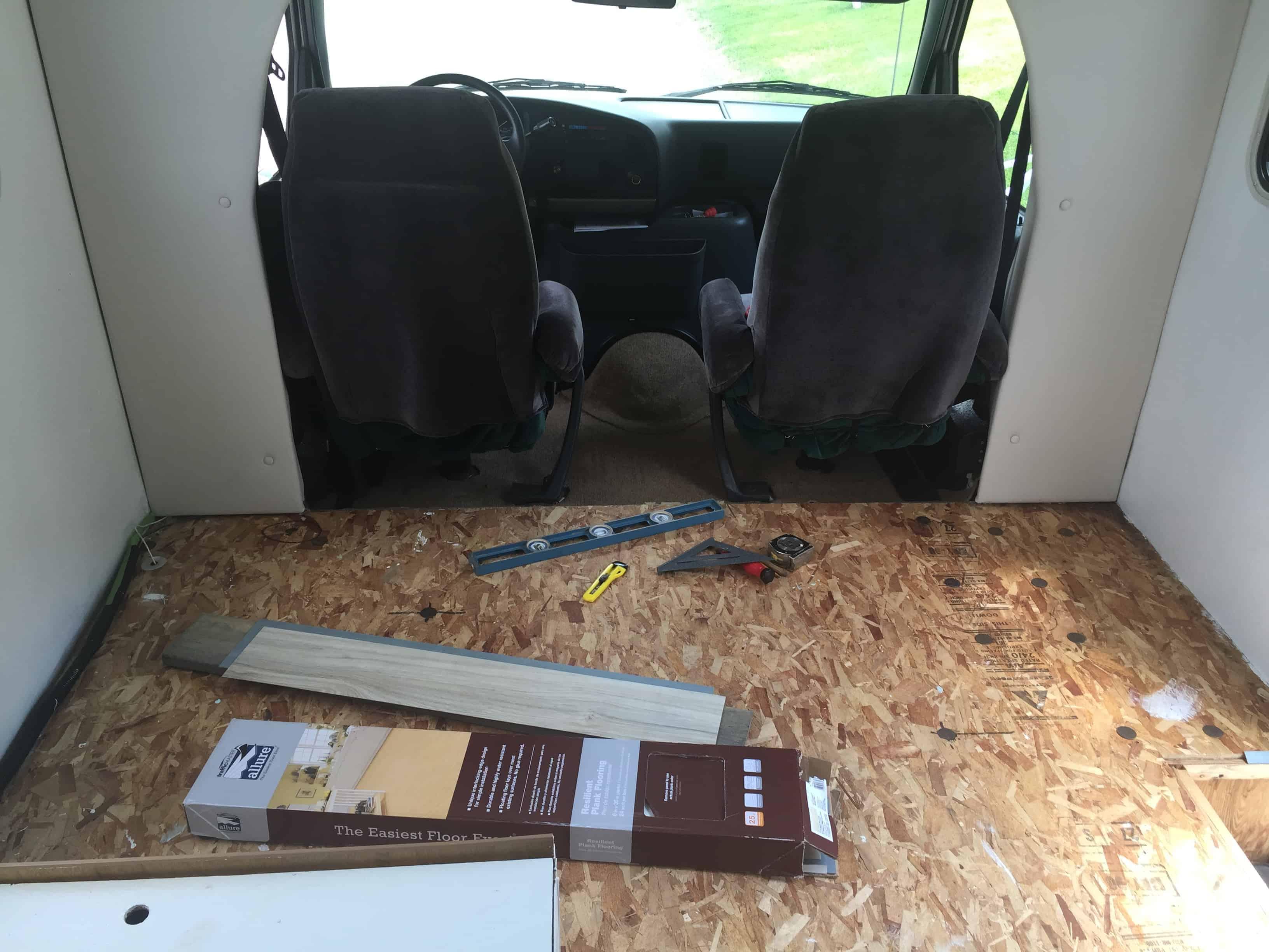 rv carpet to vinyl planks