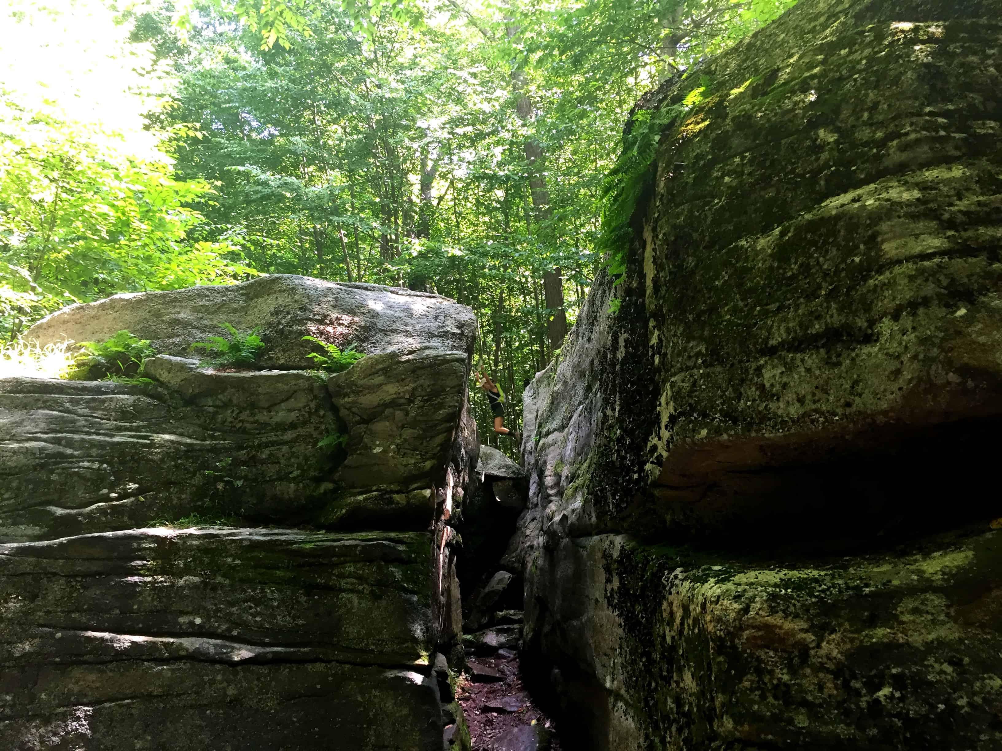 Worlds End State Park Rock Garden