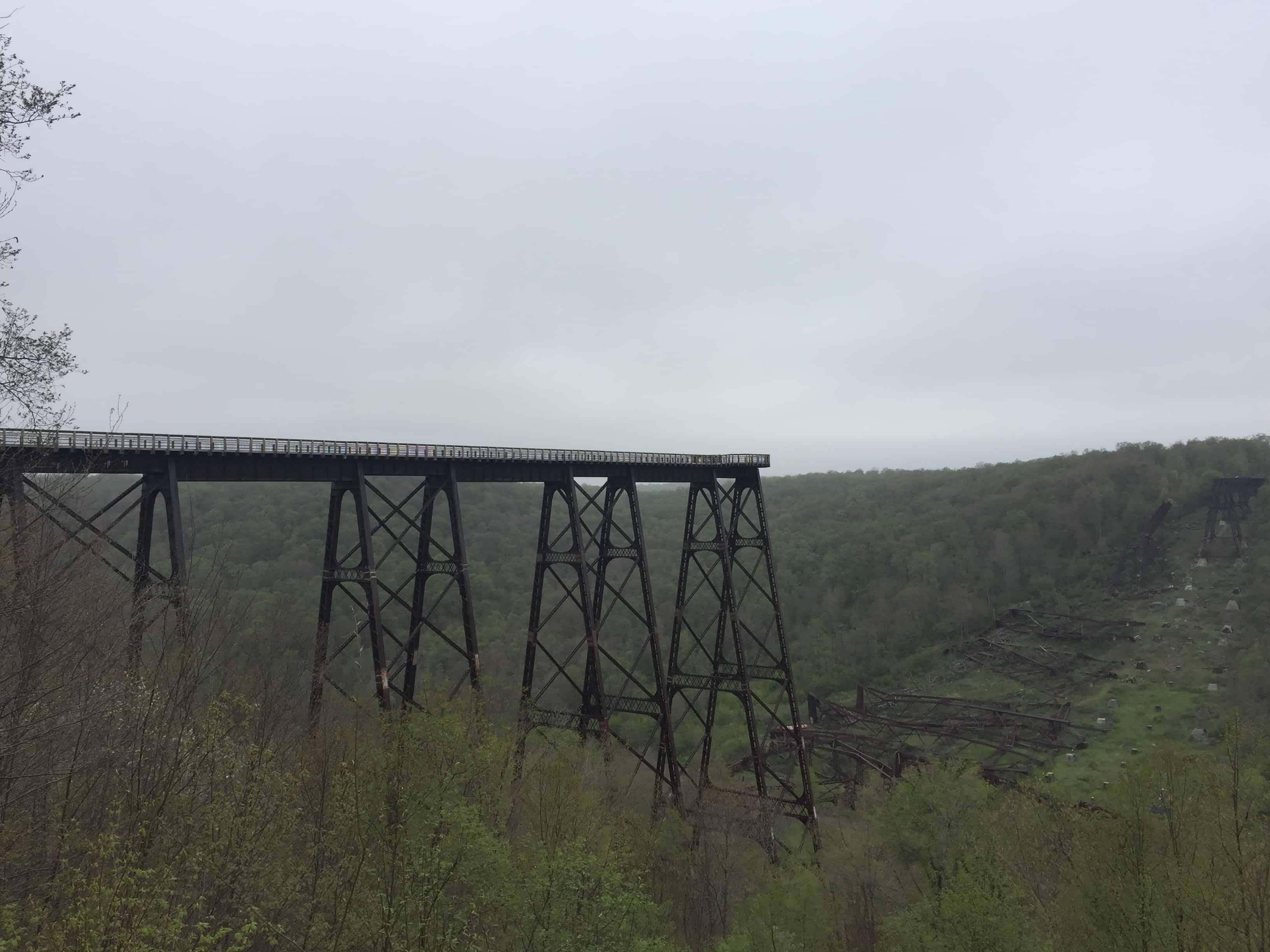 kinzua bride state park- skywalk
