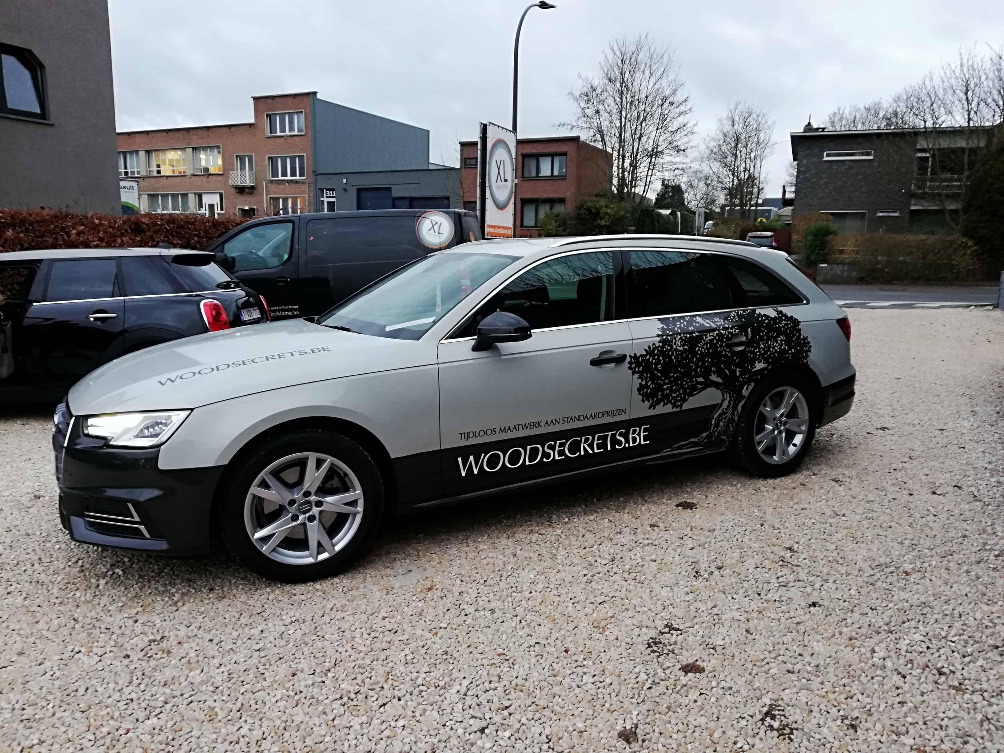 Autobelettering - WoodSecrets