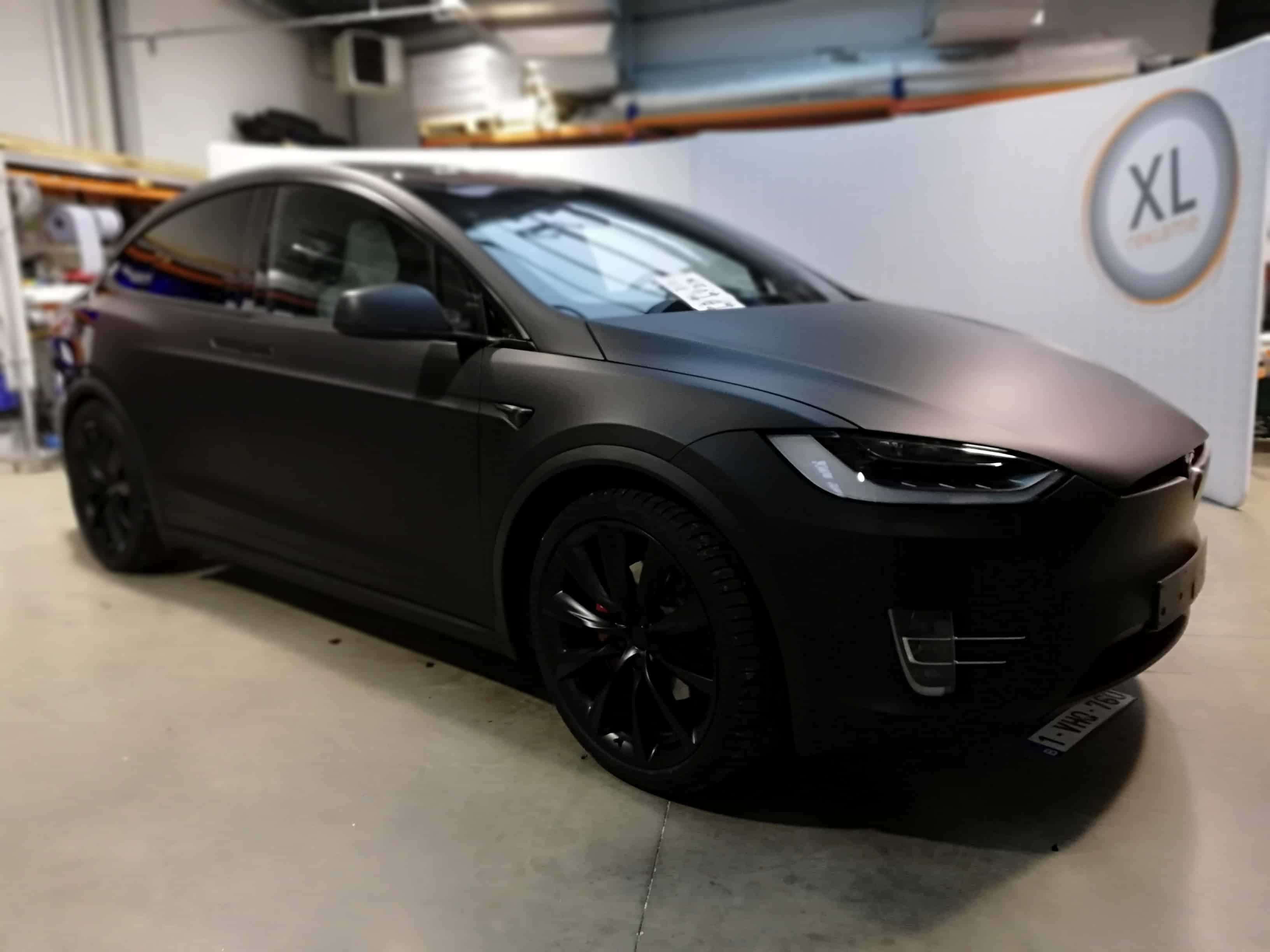 ColorWrap - Tesla