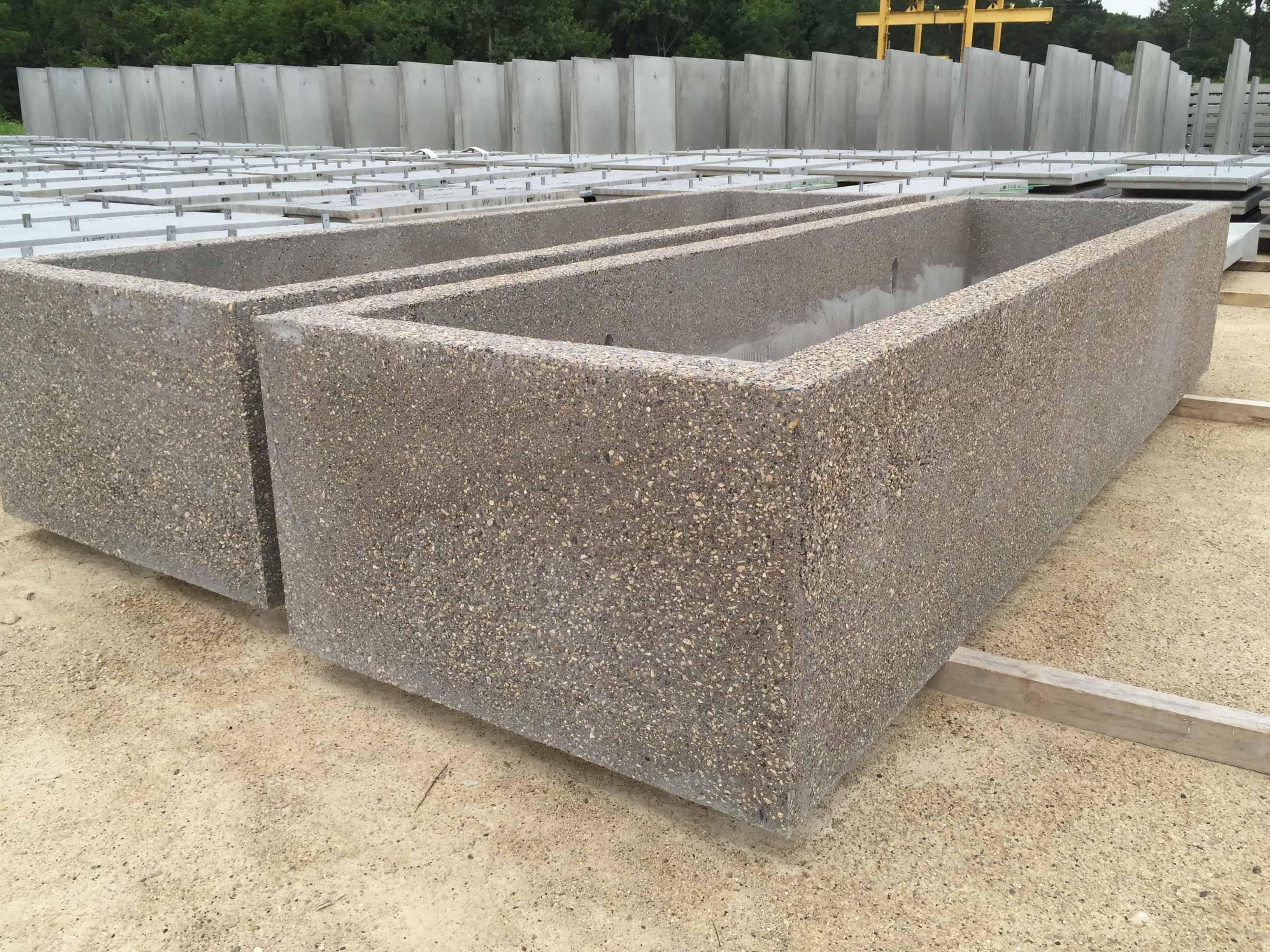 Garden Planter Boxes by Wieser Concrete