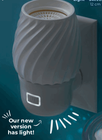 Swivel Scentsy Wall Fan Diffuser with Light
