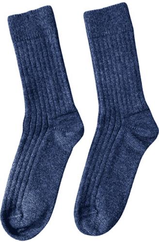 New zealanders keep their feet warm in cold weather with possumdown wool socks.