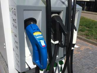 DC fast charging EVSE