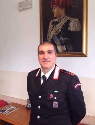 Luogotenente Giuseppe Cavaliero nuovo comandante carabinieri san dona'