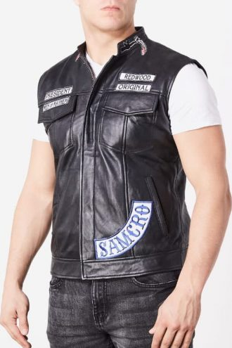 Jax Teller Sons of Anarchy Leather Vest