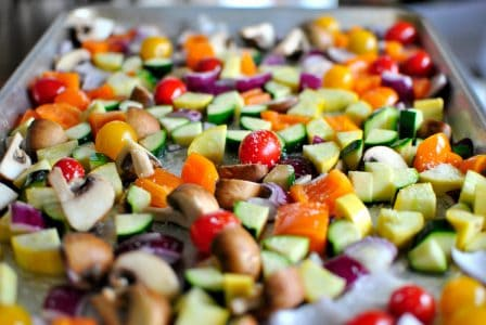 Отличные печеные овощи