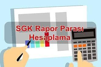 Photo of 2020 SGK Rapor Parası Hesaplaması Nasıl Yapılır?
