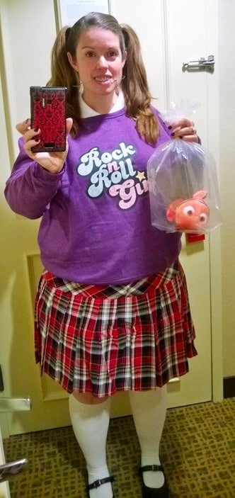 Darla Sherman costume from Finding Nemo