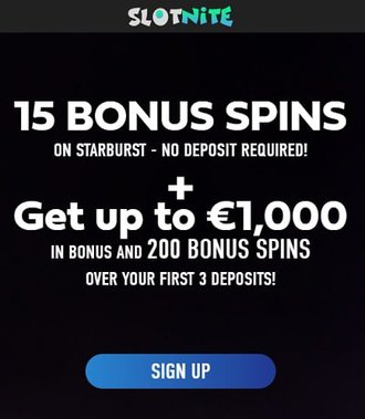 Free Spins No Deposit Required Slotnite