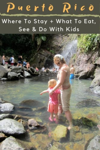 There is a plethora of things to do on a Puerto Rico vacation with kid. Explore El Yunque National Forest or discover the island's history, food and culture in Old San Juan. #sanjuan #puertorico #vacation #thingstodo #hotels #food #oldsanjuan #elyunque