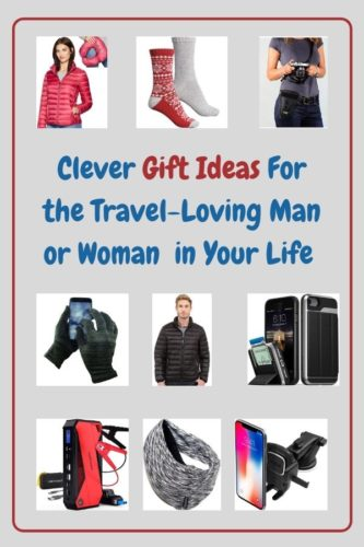 Gift ideas for men and women who fly, drive and otherwise travel quite a bit. They're especially great gifts for mom or dad. #gifts #ideas #christmas #men #women #mom #dad #travel