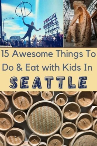Here are 15 fun and unique things to do on a seattle weekend getaway with kids. Plus, restaurants and tips for seeing the top attractions. #seattle #washington #thingstodo #kids #weekend #vacation #restaurants #planning #tips