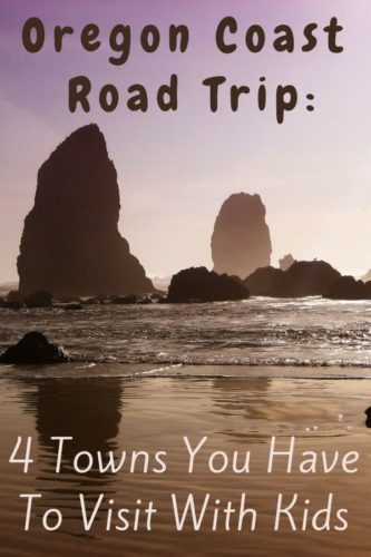 4 fun towns to stop in on an oregon coast road trip with kids, plus hotel ideas if you want to stay overnight. #oregon #coast #roadtrip #towns #thingstodo #kids #vacation #roadtrip