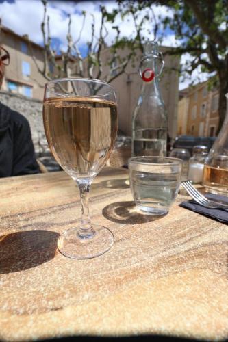 La Place restaurant in Puyloubier, France