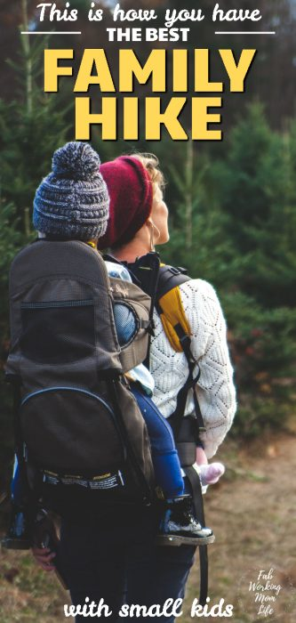 This is how you have the best family hike with small kids | Fab Working Mom Life #hikingwithkids #familyhike #parenting #family #familyadventure