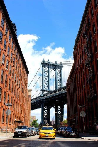 The most photographed block in dumbo brooklyn