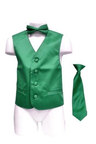 Emerald Boys Vest