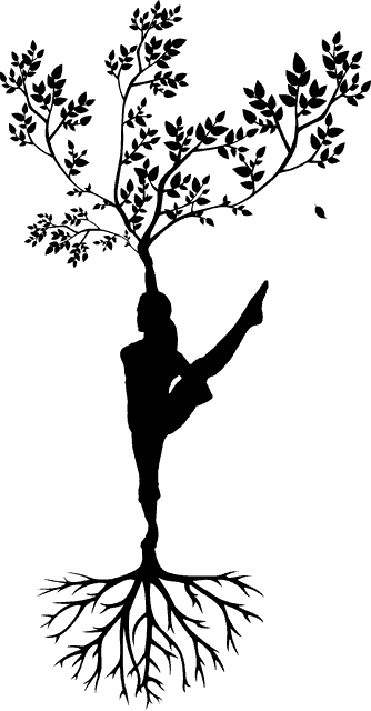 arbol de la vida silueta