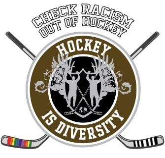 Hockey is Diversity Logo Braun