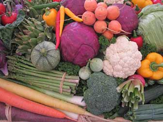 High Gas vegetables