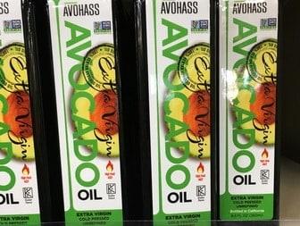 Coldpressed avocado oils to buy