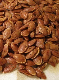 Delicious Pumpkin Seeds Straight from the Pumpkin
