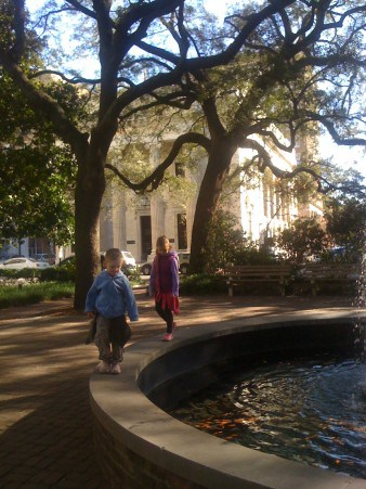 Drive To Florida, Savannah With Kids, Stop In Savannah