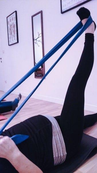 Clases de Pilates para embarazadas, preparto y postparto. / Pilates klaseak haurdunaldian: erditze aurretik eta ondoren.