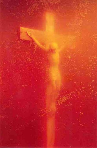 Immersion (Piss Christ) photograph by Andres Serrano, 1987