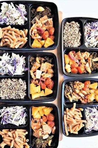 Sheet Pan Veggies-Vegan Meal prep ideas