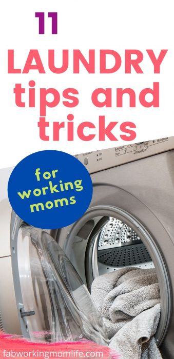 11 laundry tips for working moms