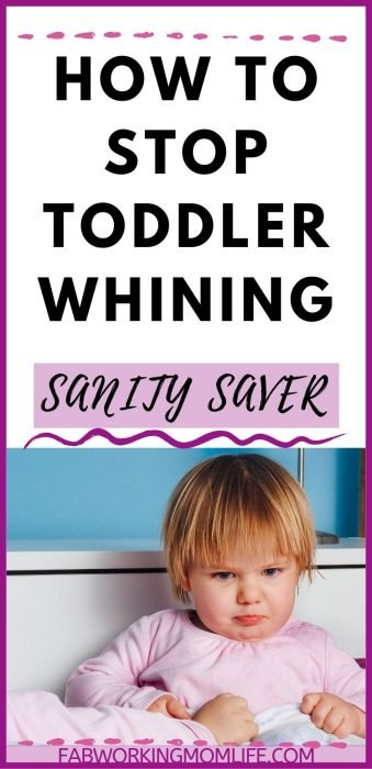 How to Stop Toddler Whining: The ULTIMATE Guide to Your Sanity