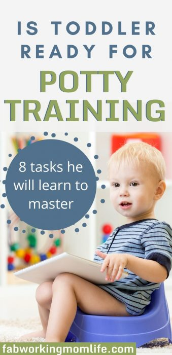 is toddler ready for potty training