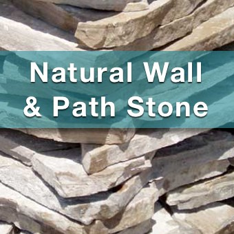natural stone, flagstone and bluestone for sale at suburban landscape supply
